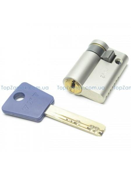 Цилиндр Mul-t-lock 7x7 40,5 (31x9,5) никель