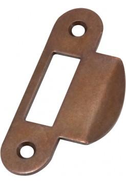 Ответная планка AGB B.01000.13.22 (защелка) закругленный отбойник, бронза