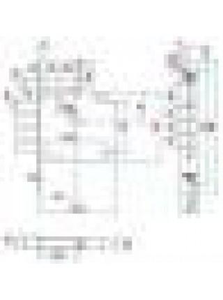 Замки врезные Border ЗВ8-6КП 5Т/15  (972201)