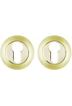 PZ накладки FUARO ET RM SG/GP-4, мат. золото/золото