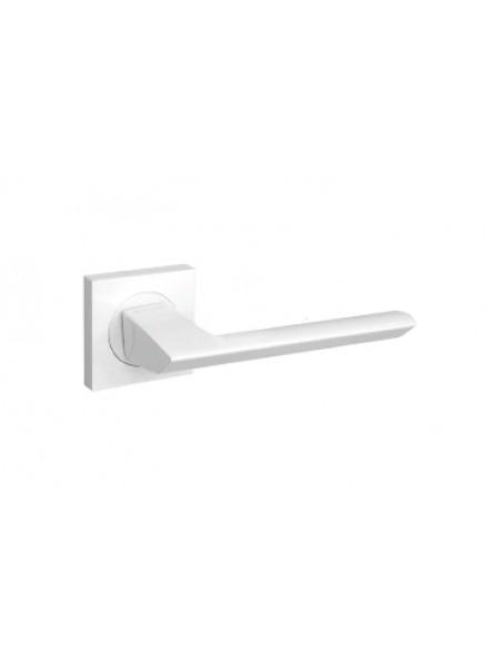 Дверные ручки FUARO SAMPLE KM WH-19 белая