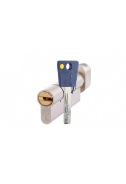 Цилиндр Mul-t-lock 7x7 82 (27x55Т) никель
