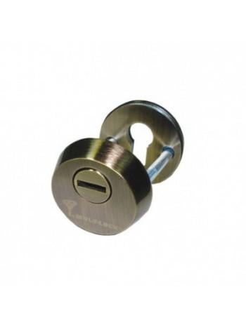 Броненакладка Mul-t-lock SL-3 античная бронза