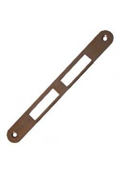 Ответная планка AGB B.01000.01.22(защелка+ригель) без отбойника, бронза