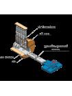 Цилиндр Mul-t-lock 7x7 85 (50x35Т) никель