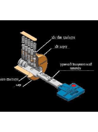 Цилиндр Mul-t-lock 7x7 110 (50x60Т) никель