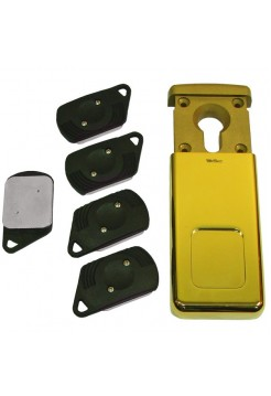 Накладка магнитная Disec MG-320 латунь (PVD)