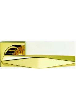 Дверные ручки Linea Cali Prisma 019 золото/золото мат.