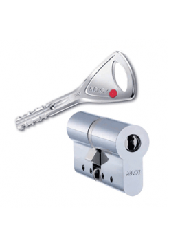 Цилиндр Abloy Protec 2 322N 92 (41x51) хром мат.