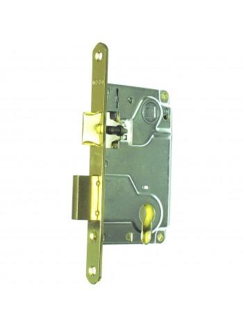 Межкомнатный механизм AGB  B.010255003 Centro под евроцилиндр, латунь