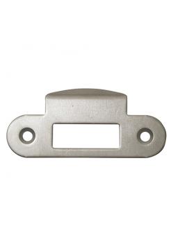 Ответная планка AGB B.01000.13.06 (защелка) закругленный отбойник, никель